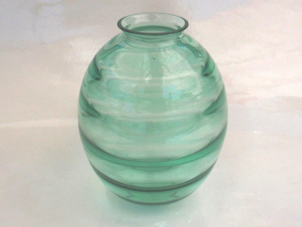 Vaas met groene ringen Andries Copier 1934