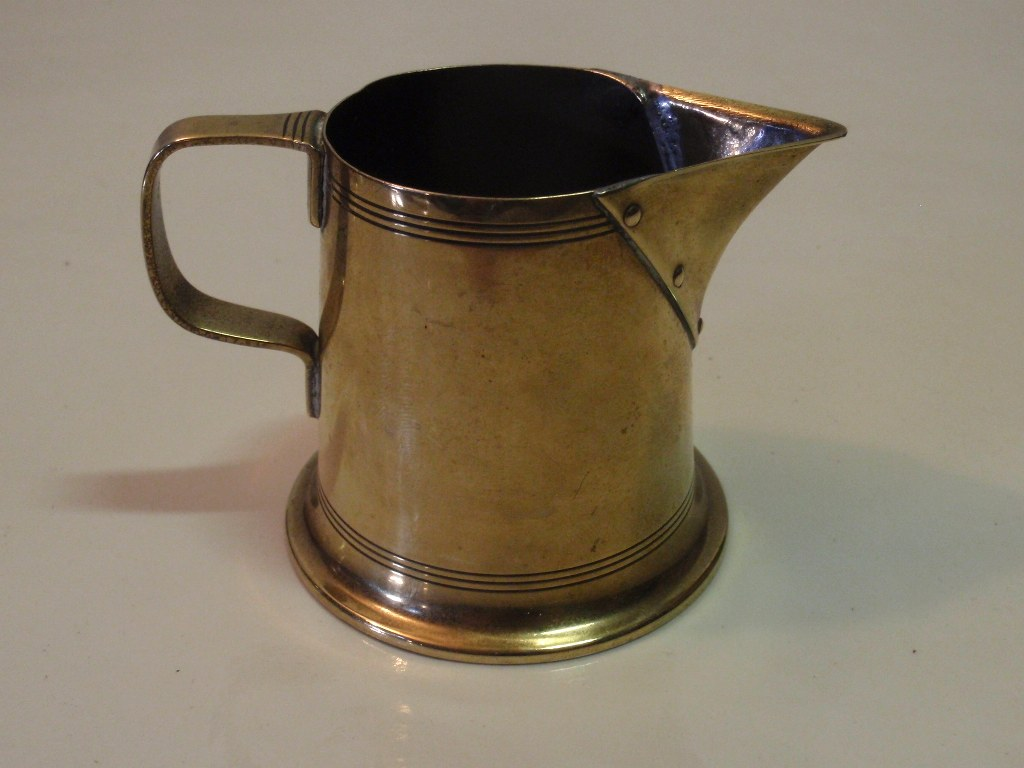 Jan Eisenloeffel copper milk jug 1900