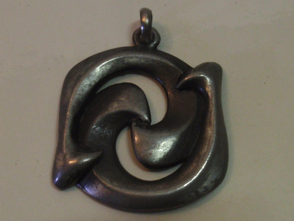 Pewter pendant Hillestad Norway