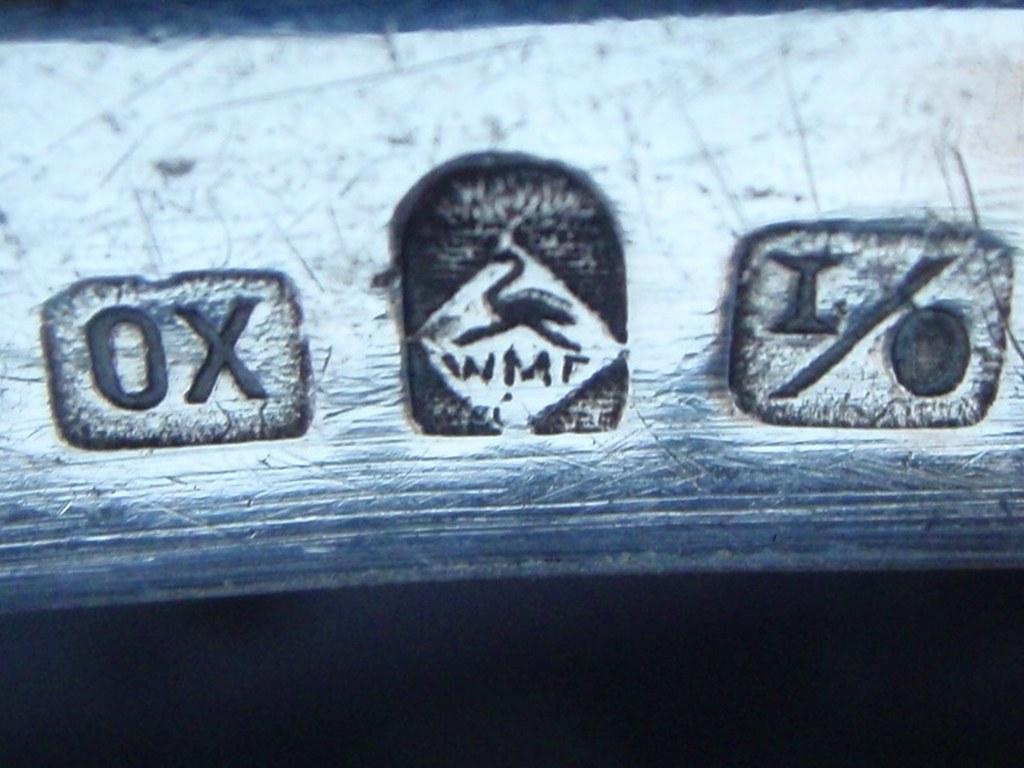 WMF schale mit Misteldekor