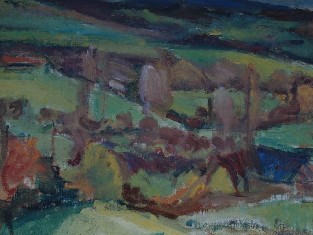 Albert Loots Frans landschap 1945