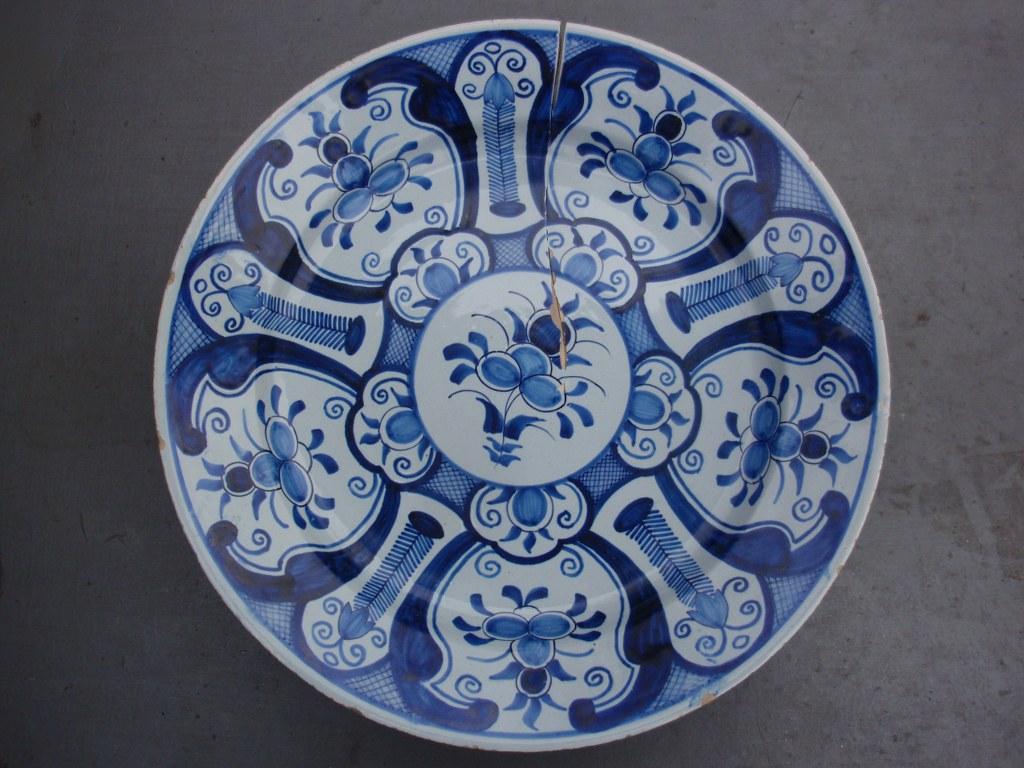 Frisian plate Makkum Tichelaar 1880