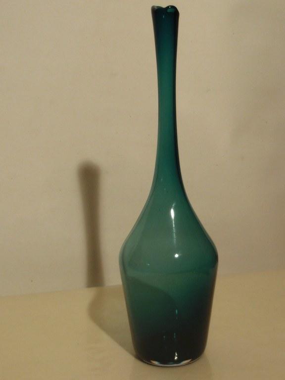 Green vase Floris Meydam Leerdam