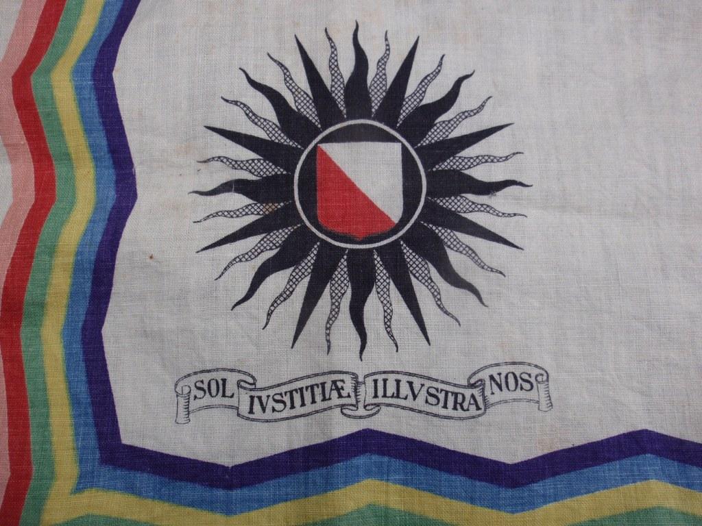 Handkerchief Sol Iustitiae Illustra Nos 1936