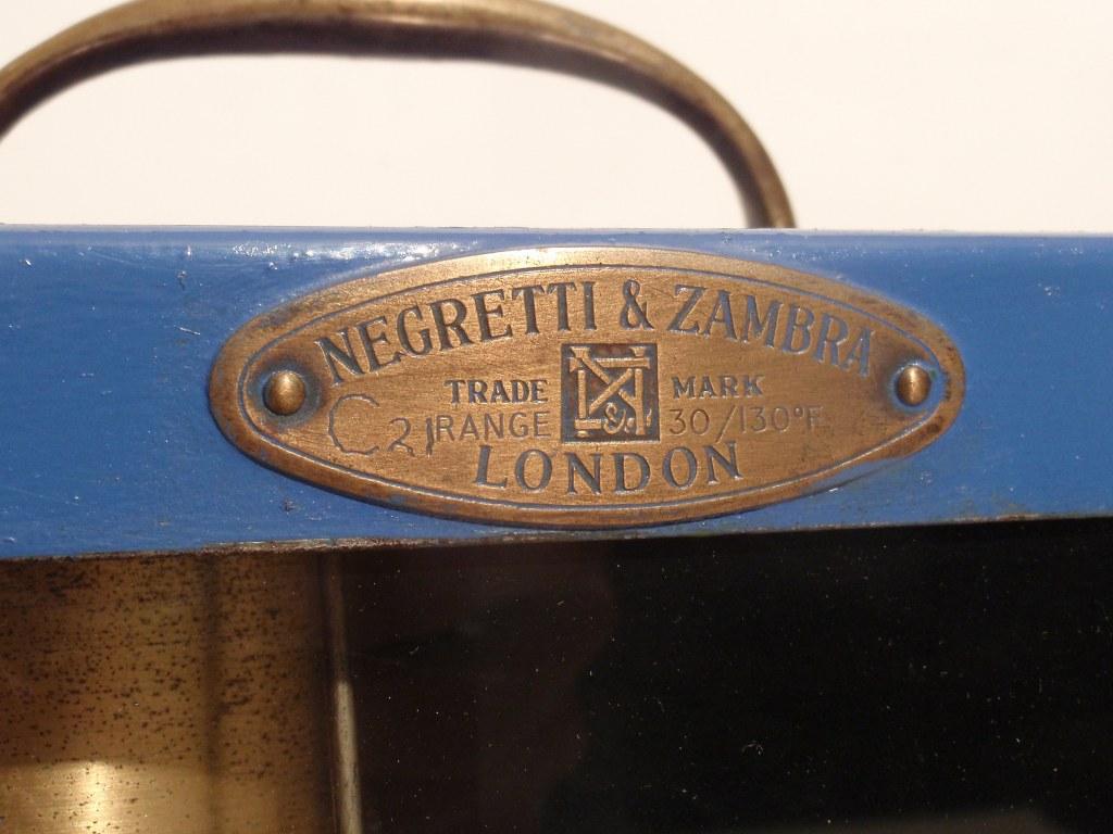 Negretti & Zambra barograph