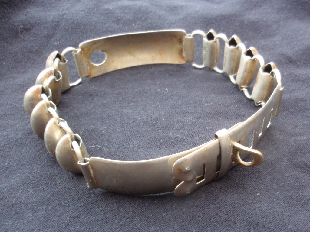 Antique French Dog Collar