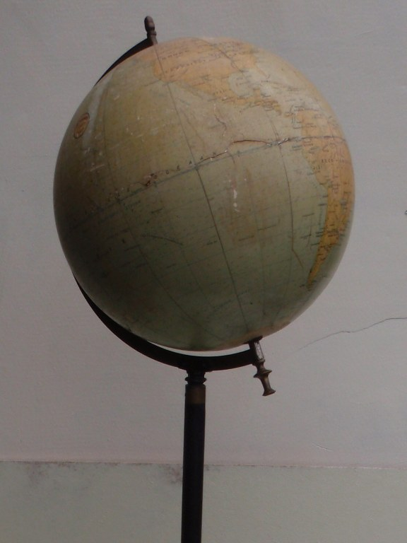 French worldglobe G. Thomas after 1914