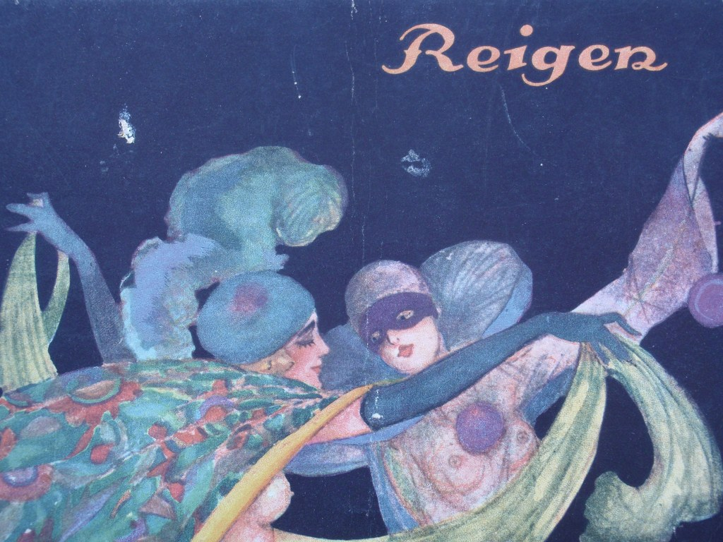German art deco erotic magazine Reigen 1924