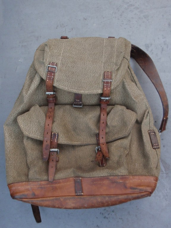 Swiss army backpack 1957
