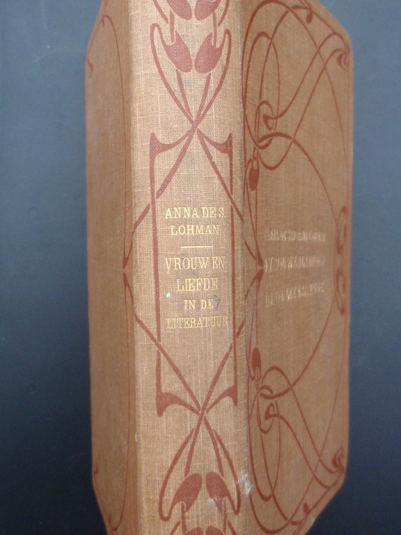 Vrouwenliefde in de literatuur by Anna de Savornin Lohman 1902
