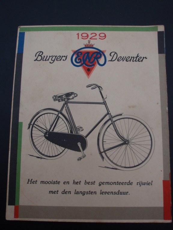 fietskaarten nederland 1929 koekkoek
