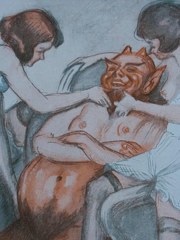 German art deco erotic magazine Reigen 1924