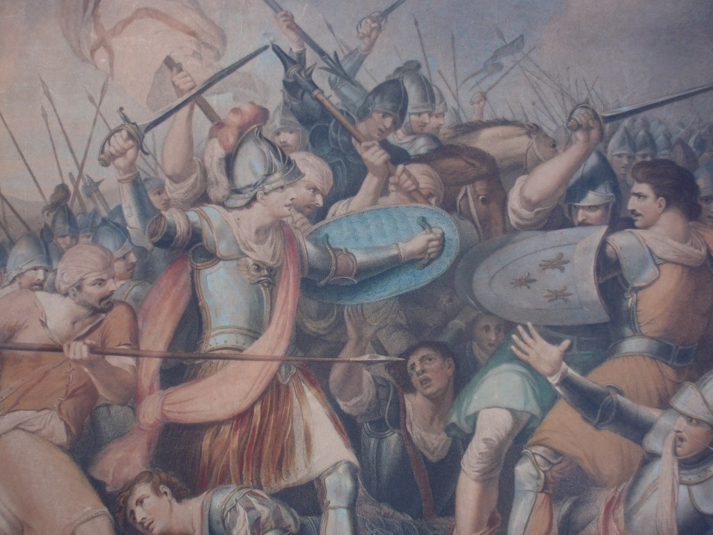 Battle of Agincourt after John Mortimer