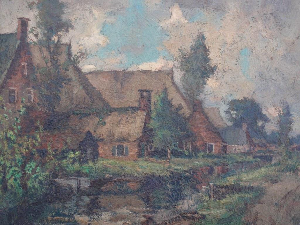 Gezicht Veenwoudsterwal Georg van der Meulen