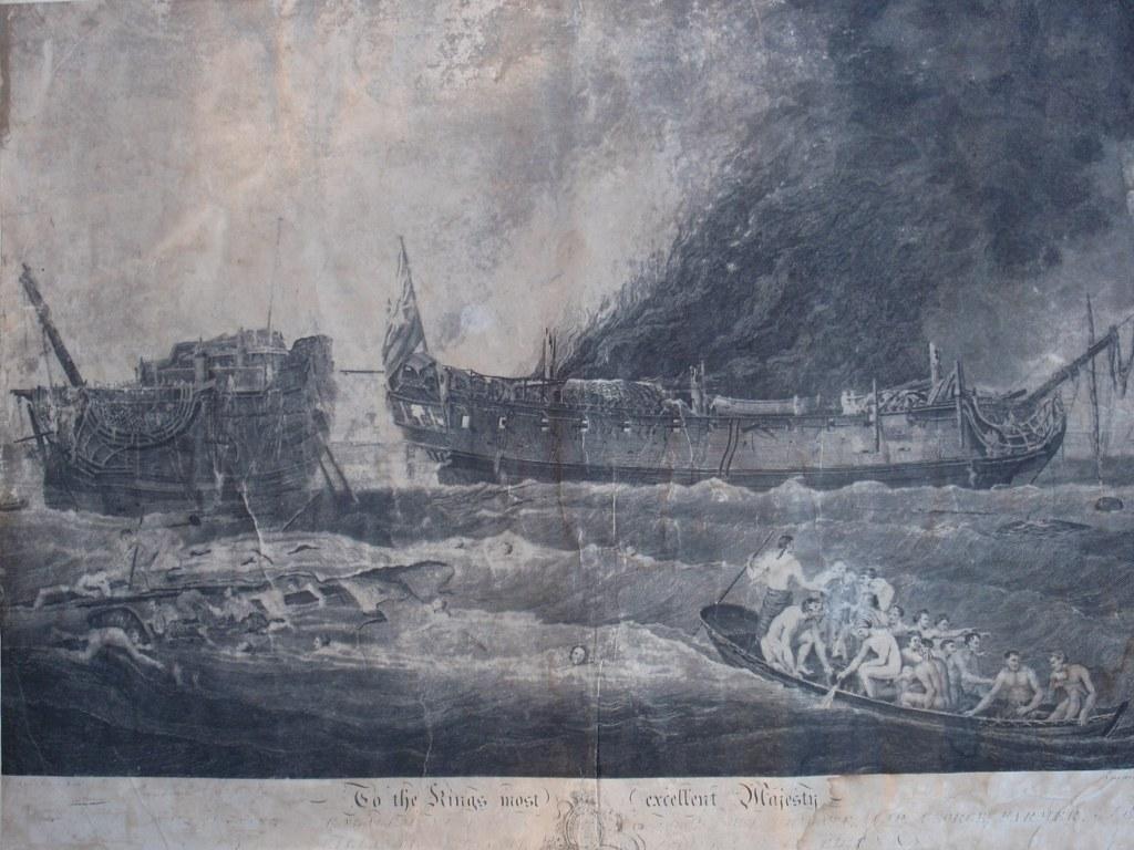 La Surveillante versus HMS Quebec 1779