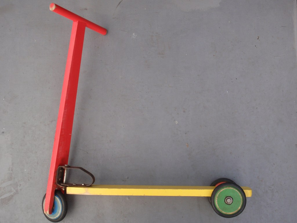 Tricycle step from the fifties