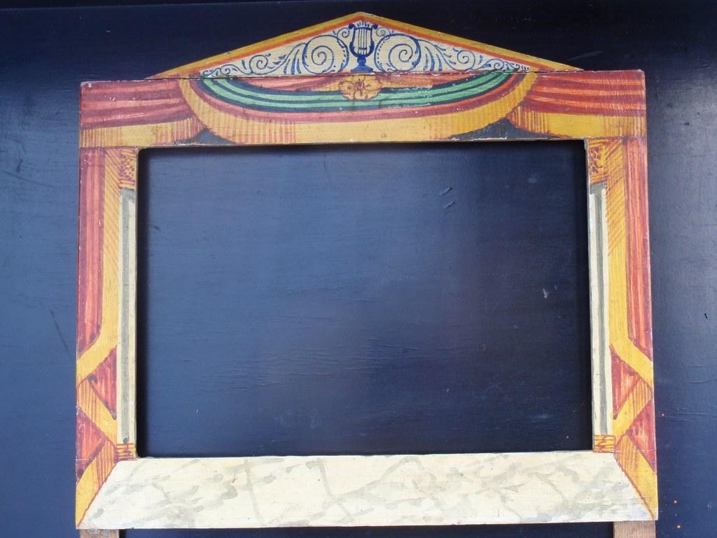 Vintage puppet theatre