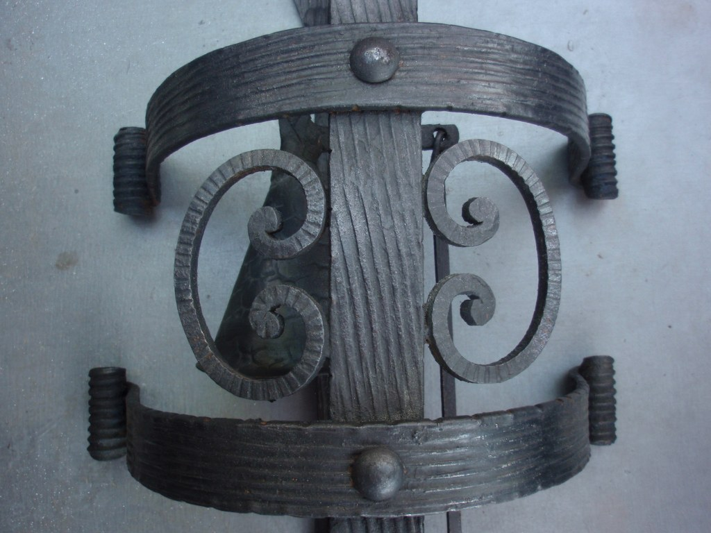 Wrought iron doorbell