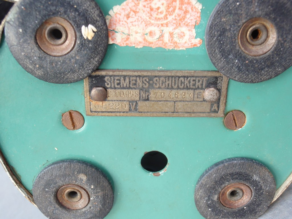 Mini art deco ventilator by Siemens-Schuckert