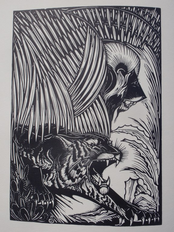 Book with twelve woodcuts by Jan Schonk