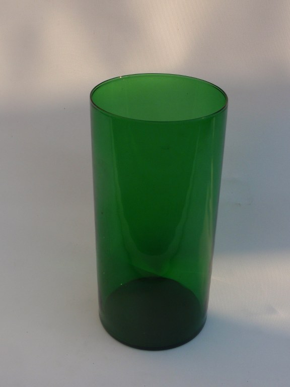 Glass vase Purtilo by Kaj Franck for Nuutajärvi