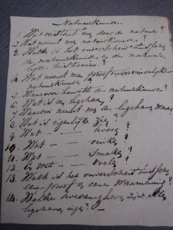 Natuurkundig schoolboek door Johannes Buijs 1809 1812