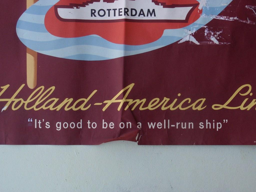 Poster SS Rotterdam 1959