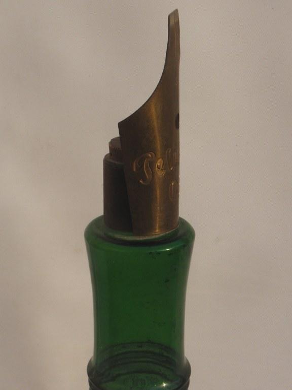 Unique giant fountain pen bottle by Pelikan 1930