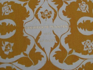 Book 'Gekweekte planten' with cover design by C.A. Lion Cachet-1