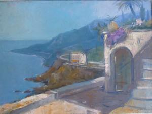 Riviera sea view by Bernard Leemker-1