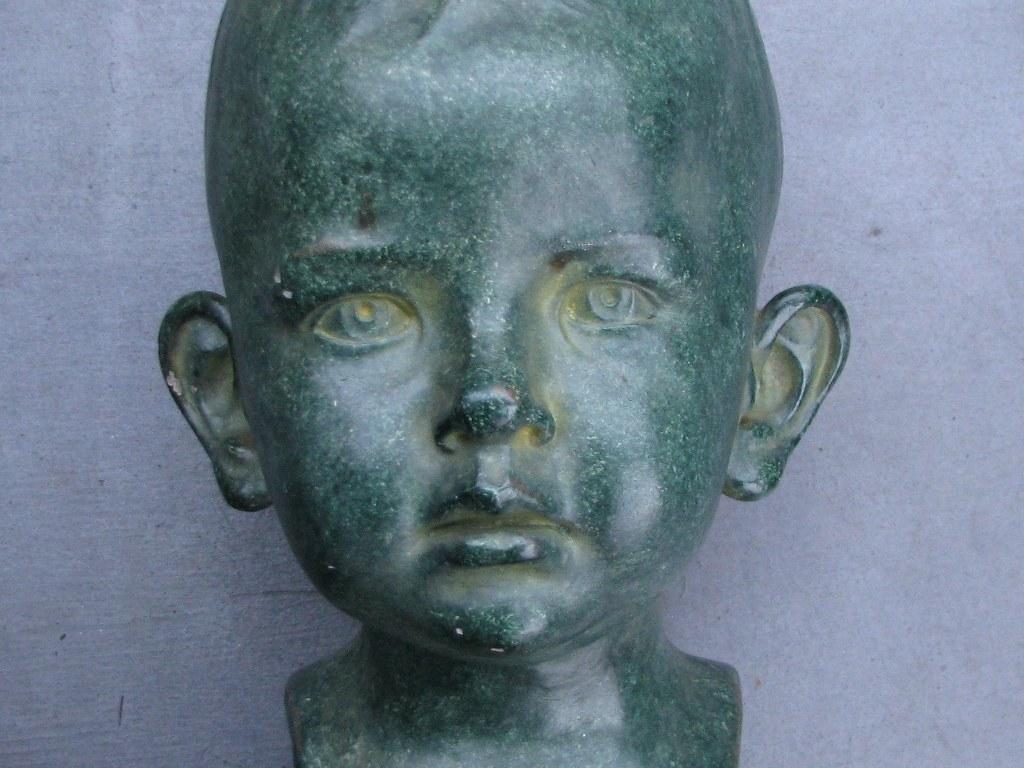 Boys head by Jan Verdonk
