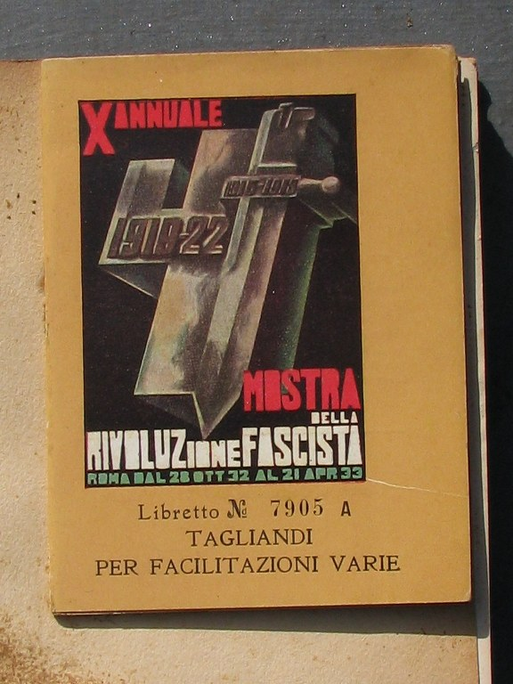 Book on Exhibition of the Fascist Revolution-2