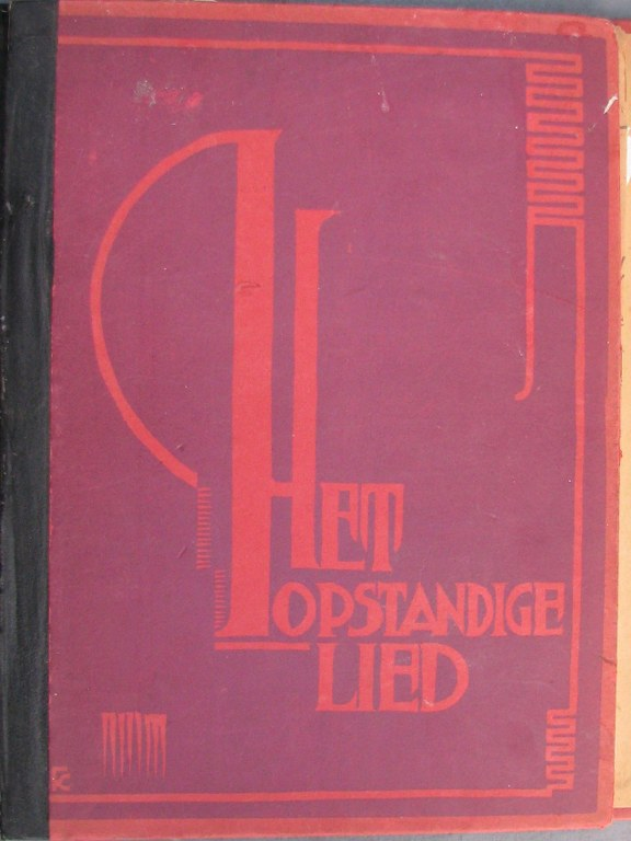 Cover 'Het opstandige lied' by Fré Cohen-1