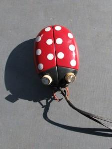 Portable AM radio Sonnet Ladybug LT303 by Dreamland Electronics-1