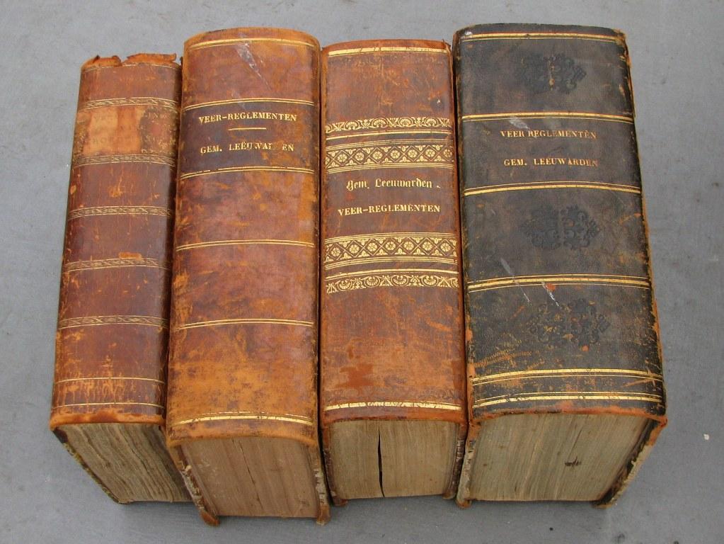 Verzameling verordeningen en veerreglementen van Leeuwarden