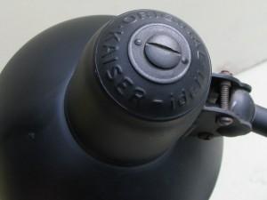 Black Kaiser-idell 6556-T desk lamp by Christian Dell-1