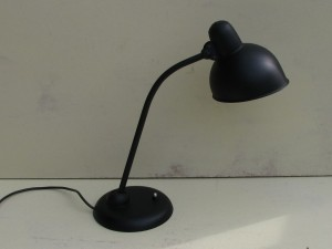 Black Kaiser-idell 6556-T desk lamp by Christian Dell-6