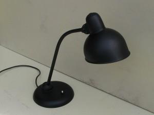 Black Kaiser-idell 6556-T desk lamp by Christian Dell-7