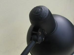 Black Kaiser-idell 6556-T desk lamp by Christian Dell-8