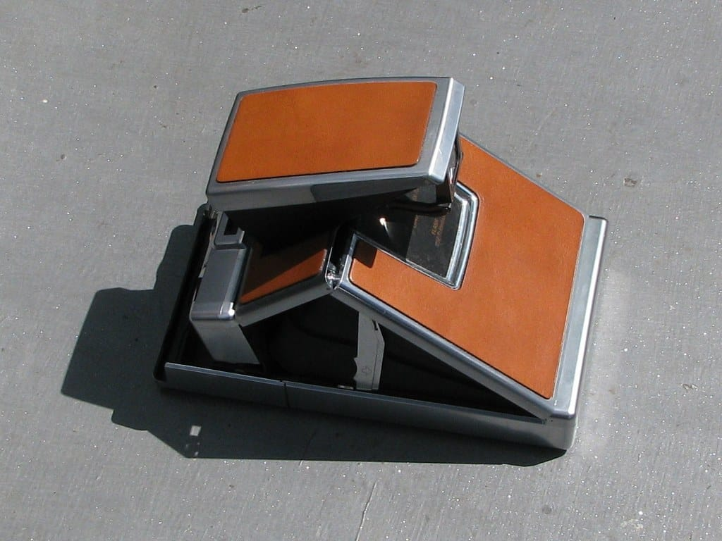 Polaroid SX-70 Land camera 1972-3