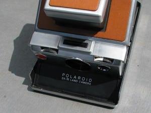 Polaroid SX-70 Land camera 1972-6