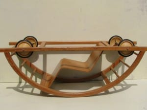 Rocking car by Brockhage and Andrä 1950-1