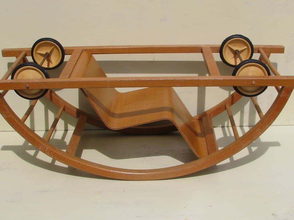 Rocking car by Brockhage and Andrä 1950-7
