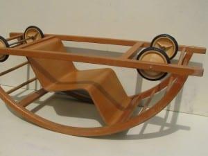 Rocking car by Brockhage and Andrä 1950-8