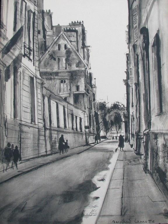 Two signed prints by Bernard Lamotte-1