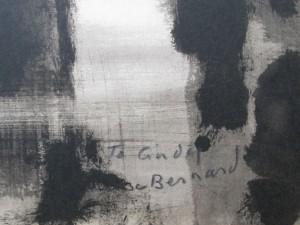 Two signed prints by Bernard Lamotte-5