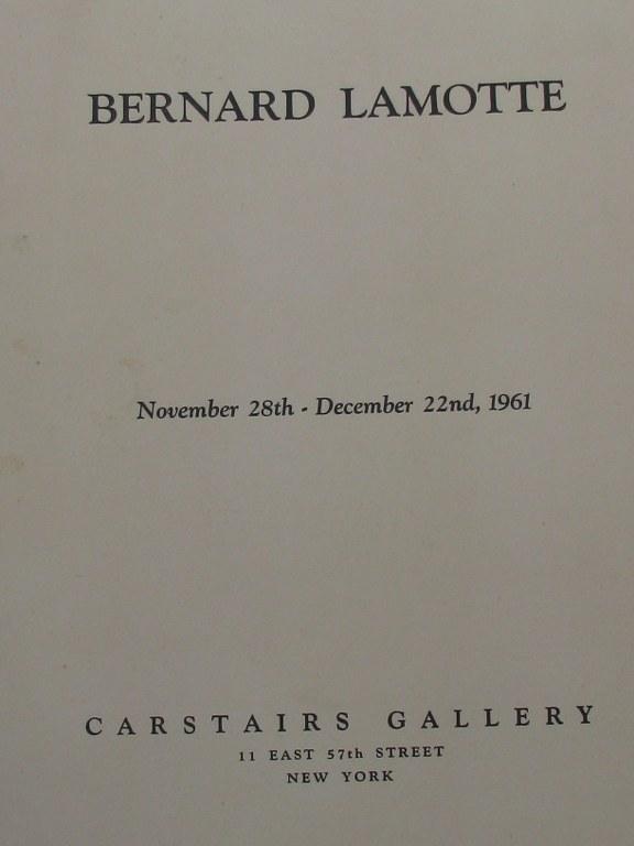 Two signed prints by Bernard Lamotte-6