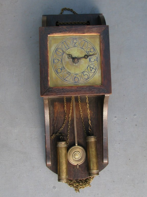 Wall clock by Willem Penaat 1905-1
