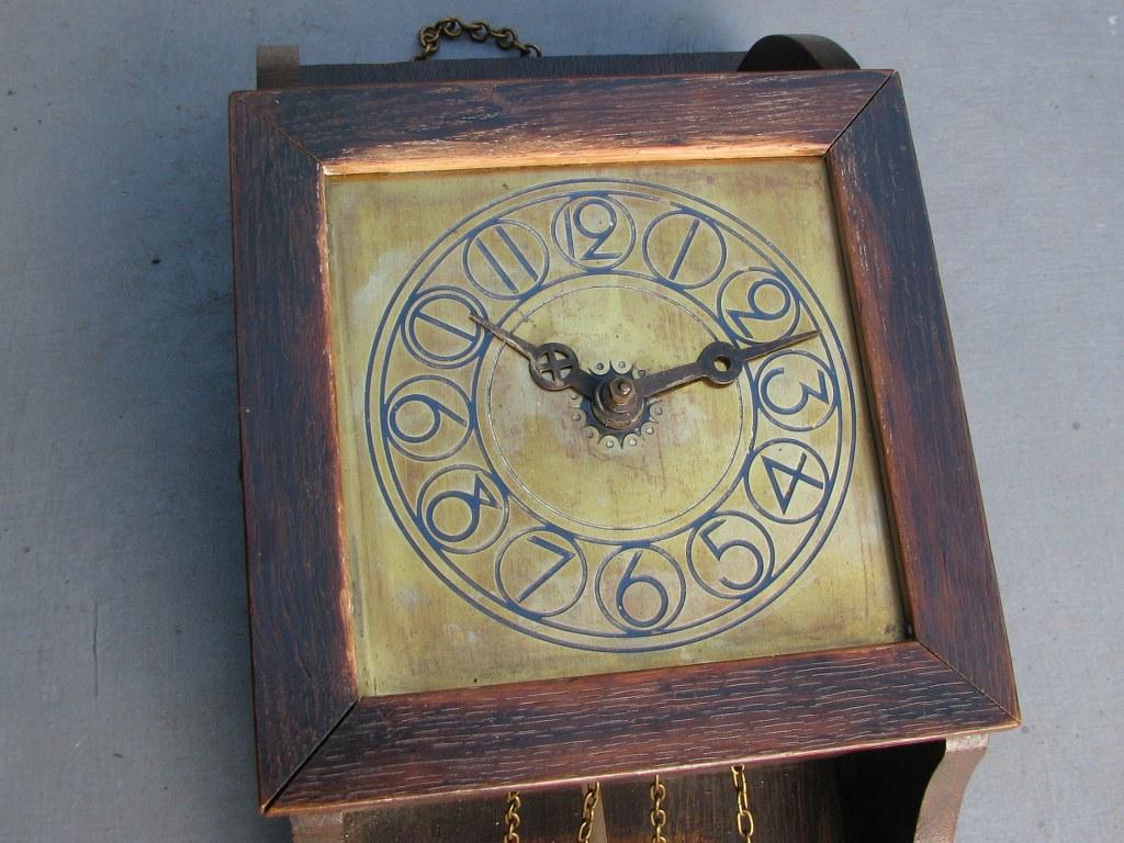 Wall clock by Willem Penaat 1905