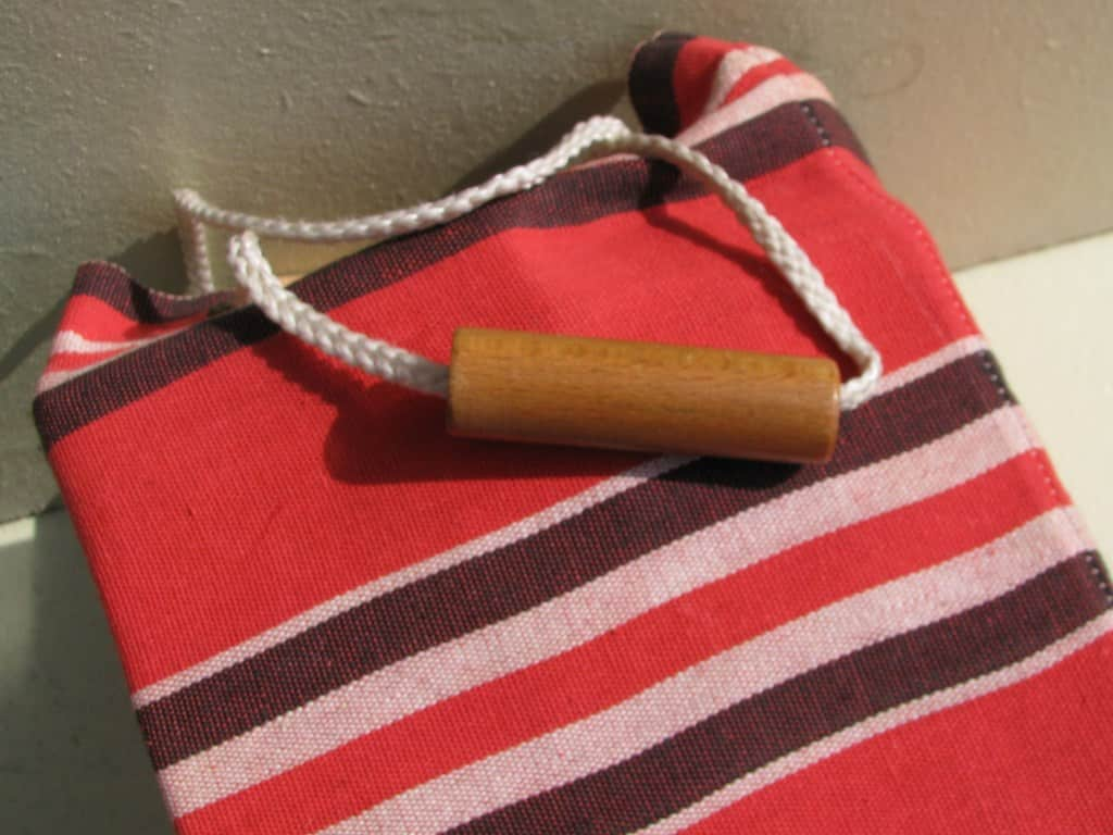 Fifties bag with wooden blocks ('blokkenzak') of ADO by Ko Verzuu-5
